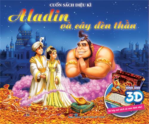 Aladin và cây đèn thần - Sách dựng hình 3D