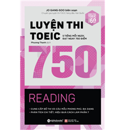 luyện thi toeic 750 reading