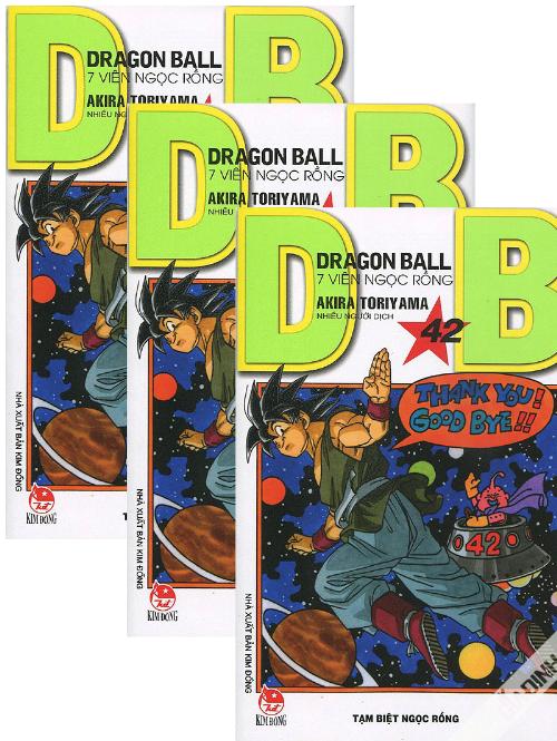Combo 42 tập: Dragon Ball – Tập 1 đến Tập 42