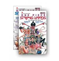 COMBO SÁCH - ONE PIECE STRONG WORDS - 2 CUỐN